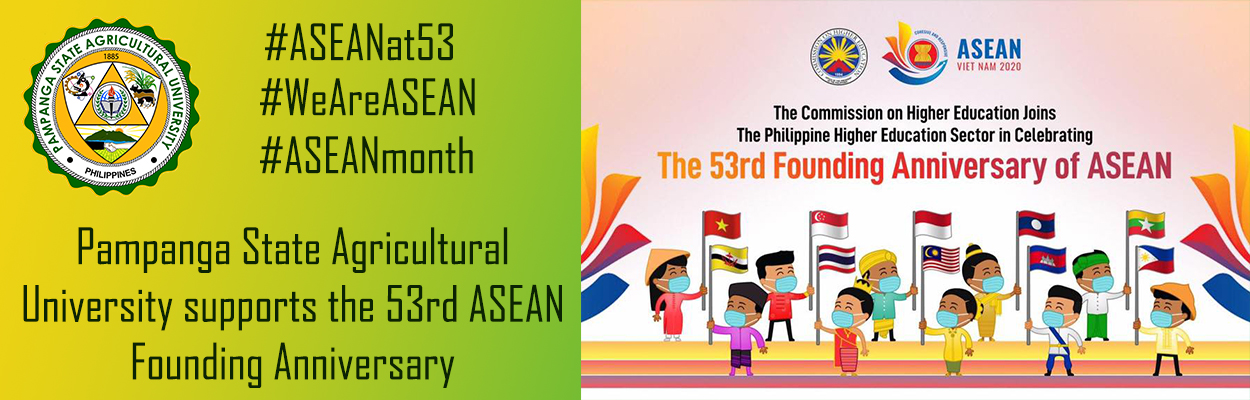 The 53rd Founding Anniversary of ASEAN