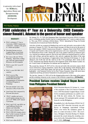 PSAU NEWSLETTER 2019 new