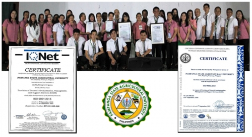 PSAU is now ISO 9001:2015 certified